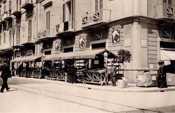 La libreria Laterza nel 1932