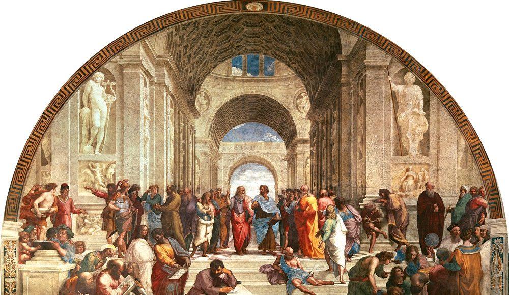 Scuola di Atene, Raffaello Sanzio