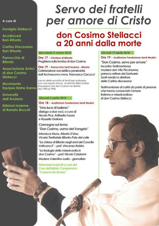 Programma Don Cosimo Stellacci