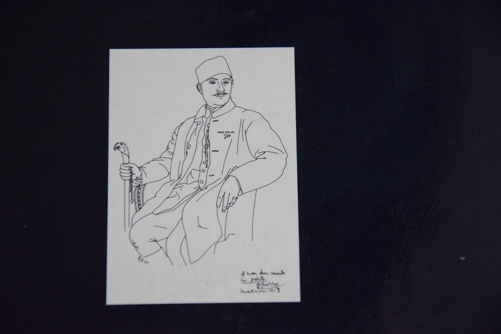 Ritratto di Ricciotto fatto da Pablo Picasso