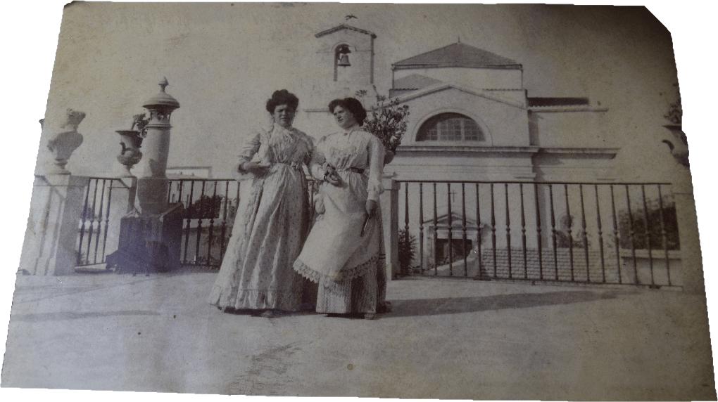 Villa Stampacchia stampa d'epoca