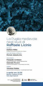 Bitonto ricorda la Puglia medievale di Raffaele Licinio