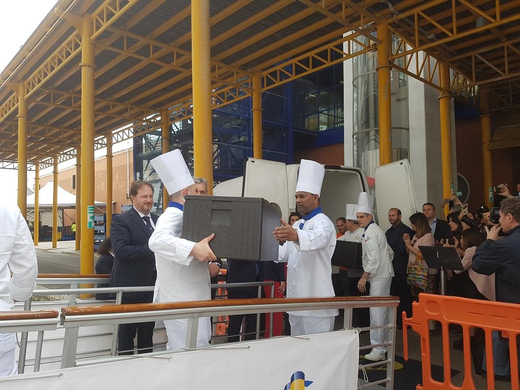 La lotta agli sprechi di Costa Crociere premia la Fondazione Santi Medici