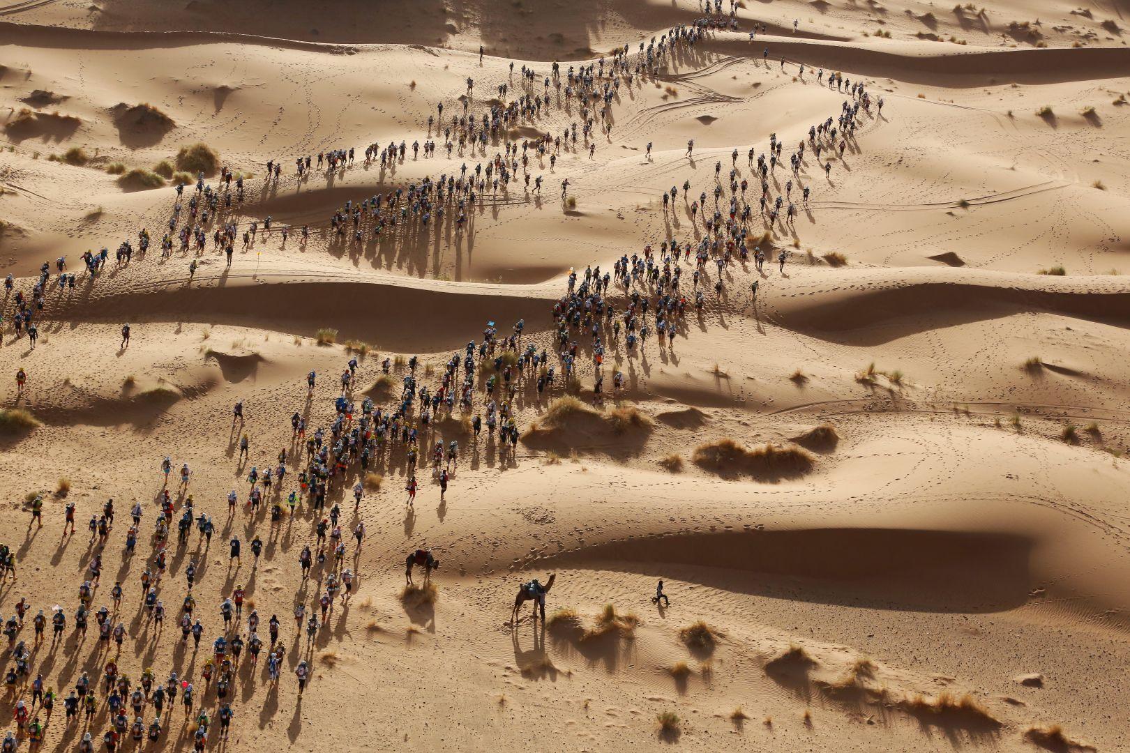 Marathon des Sables Erik Sampers