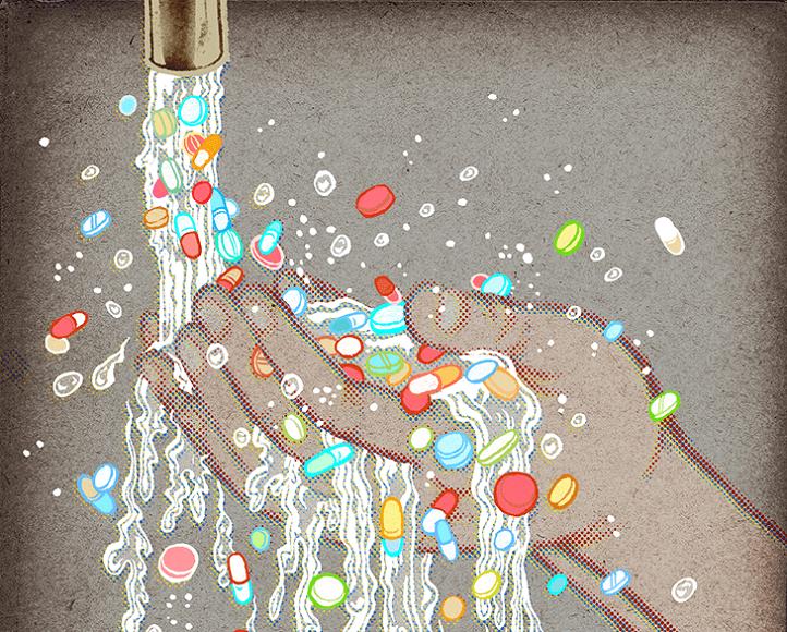 inquinamento da farmaci