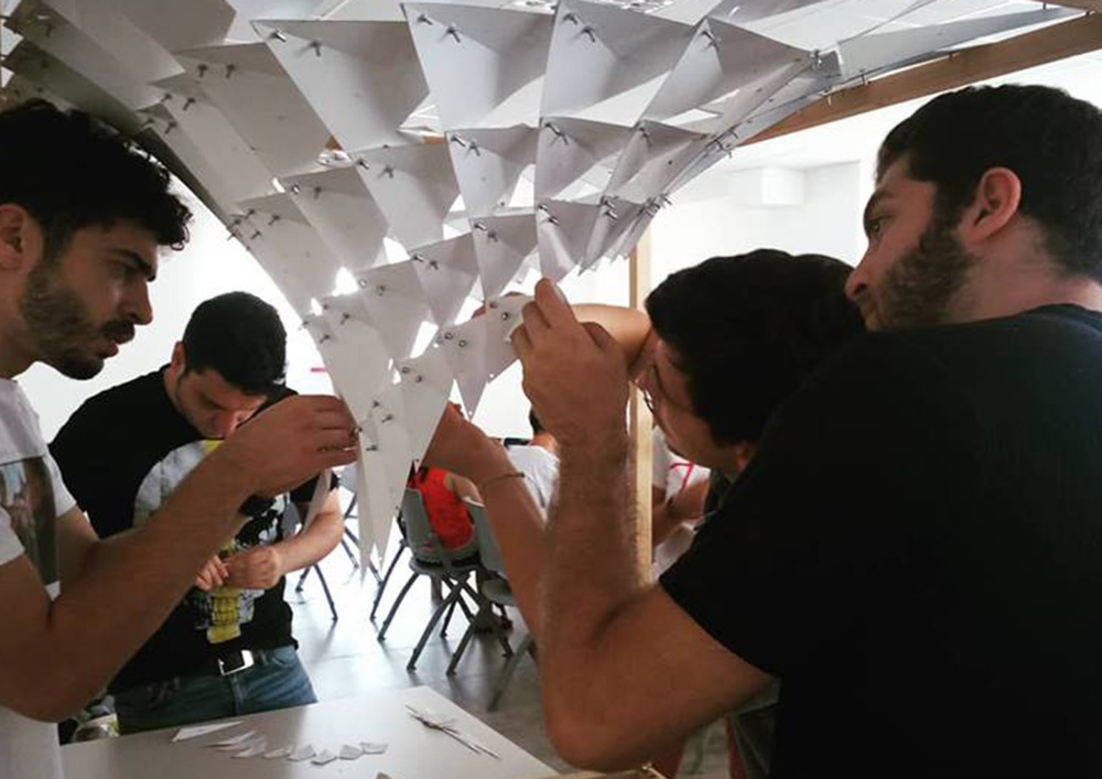 Quando l'architettura si fa con le mani