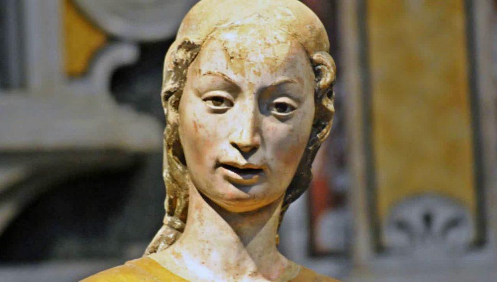 statua sant'Eufemia Irsina