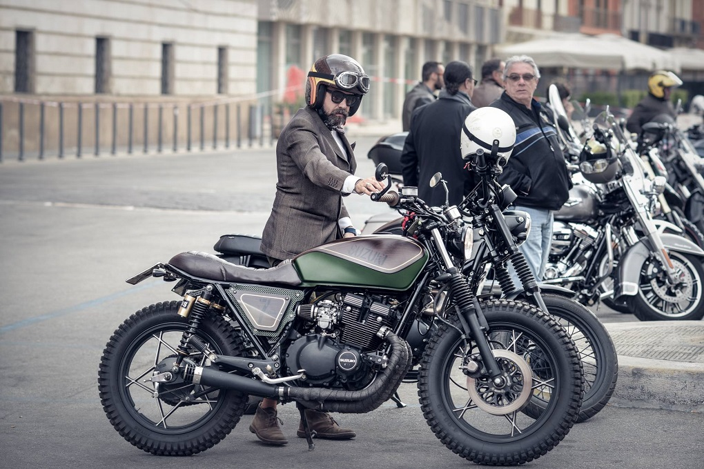 Distinguished Gentleman's Ride Bari 2018