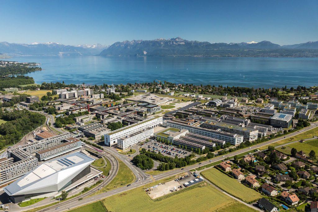 EPFL_campus_2017