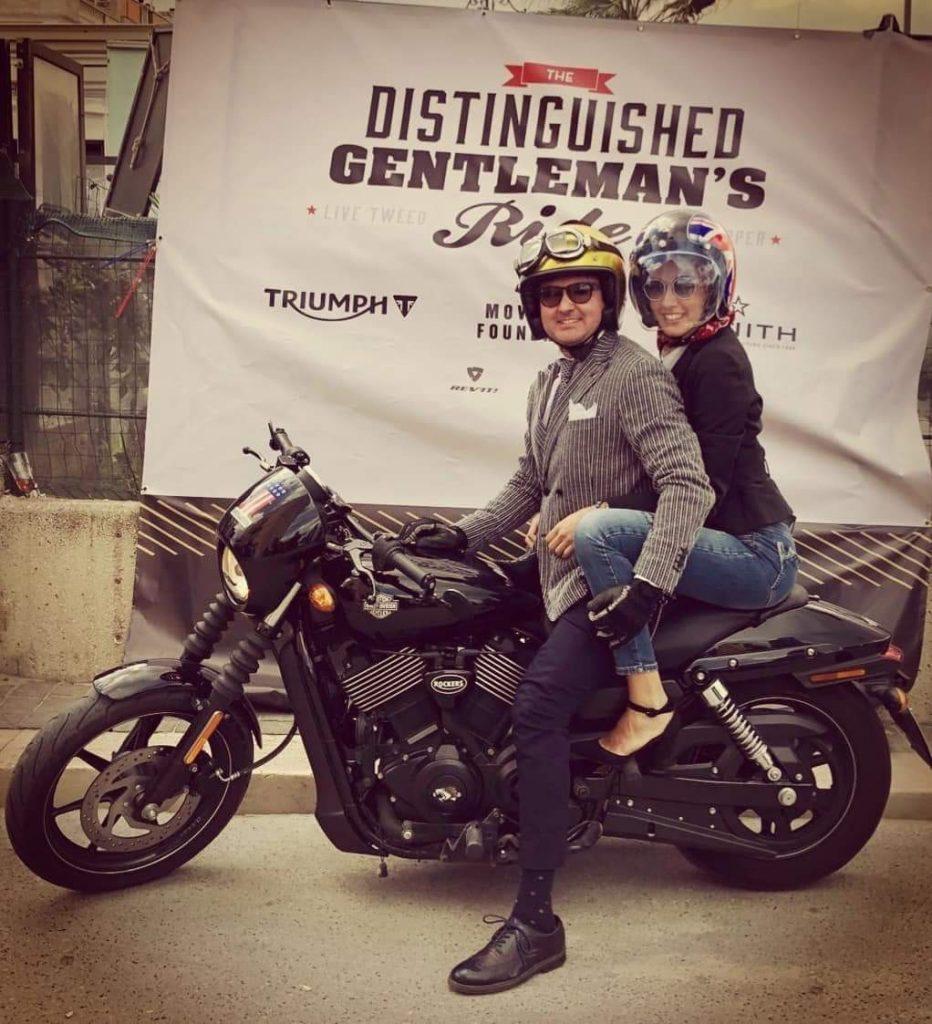 Vincenzo Acquafredda Distinguished Gentleman's Ride 2018