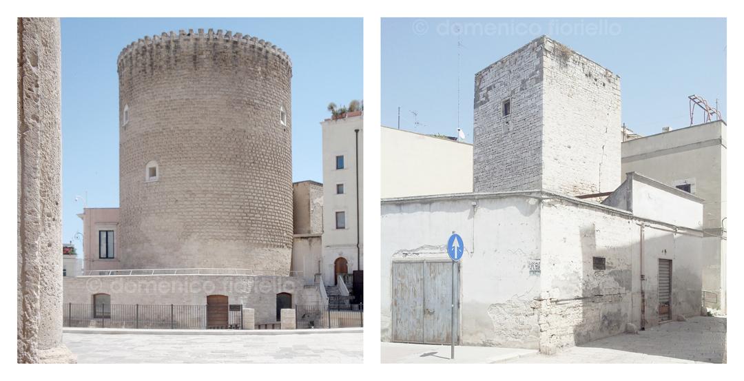 Torrione Angioino | Torre Normanna nei pressi di Piazza Caldarol Bitonto