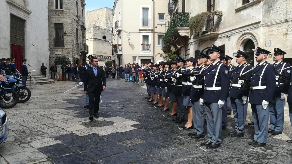 Giuseppe Bisogno polizia anniversario 167 Bari