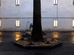Il cortile del Liceo, chiostro del vecchio convento